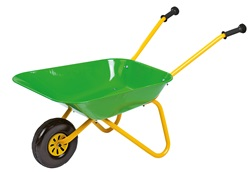 271801. Green Metal Wheelbarrow - by Rolly Toys