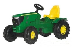 601066.  John Deere 6210R Pedal Tractor - by Rolly Toys