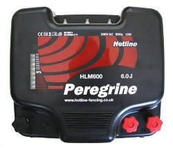 HLM600.  Hotline Peregrine 5.6J Mains Powered Fence Energiser