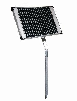 SP20W.  20 Watt Solar Battery Charger Panel and Stand