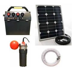 SPK60-300. Hotline Solar Powered Water Pump Kit - NEW WITH 60W SOLAR PANEL